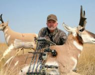 Montana Antelope - Decoy and Bow